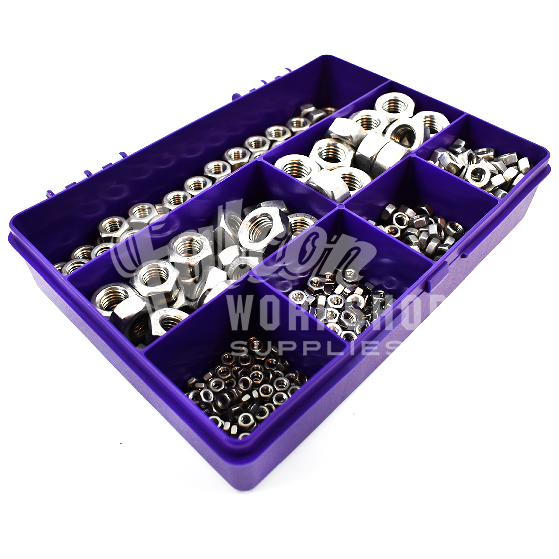 510 Assorted Piece A2 Stainless M3 M4 M5 M6 M8 M10 M12