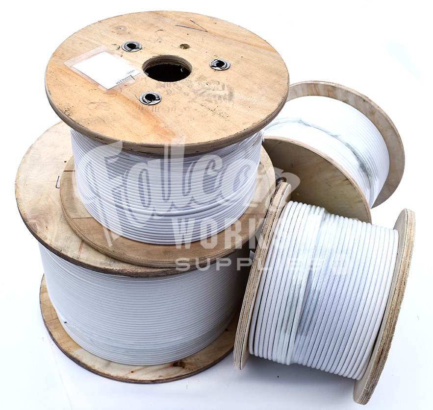 Pvc Class 5 Cable : Pvc coated a stainless steel marine wire rope cable
