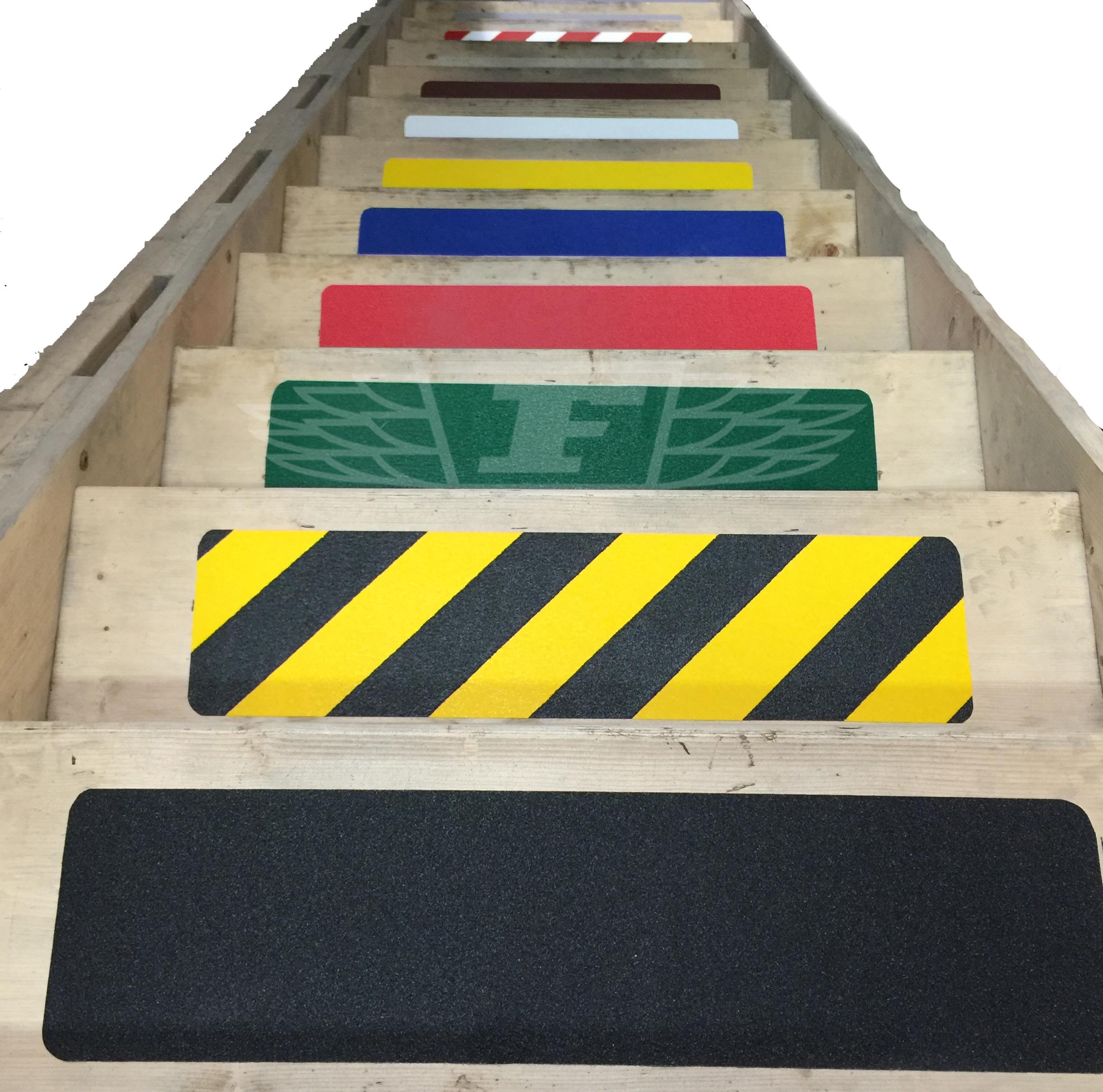 Anti Slip Stairs : Mm adhesive backed anti slip skid tape for