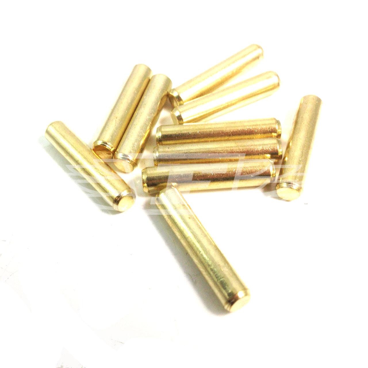 BRASS PIN 5mm SHELF SUPPORT STUD PEGS, KITCHEN CABINETS