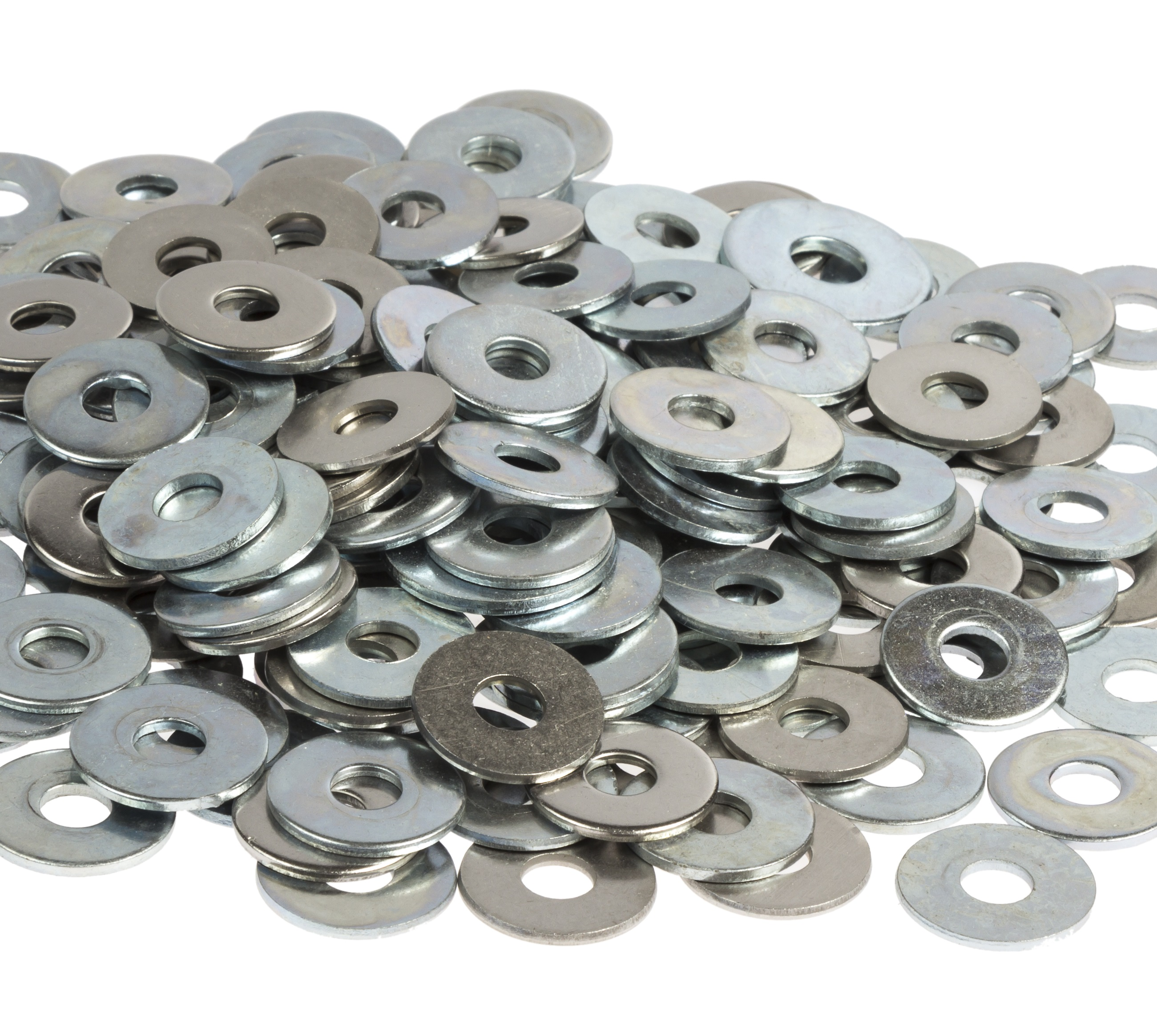A stainless steel form b washers m