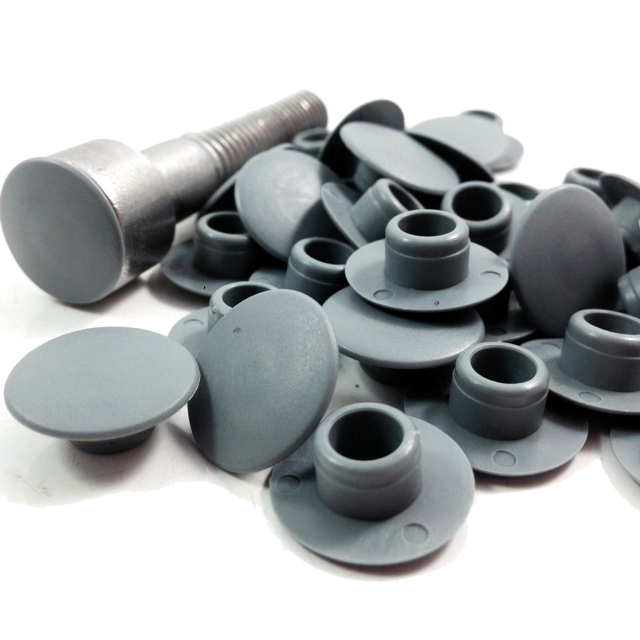 M5 5mm Grey Socket Head Cover Caps Hexagon Head Screws