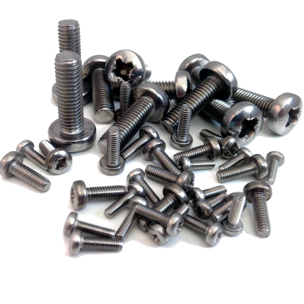 2 machine screws
