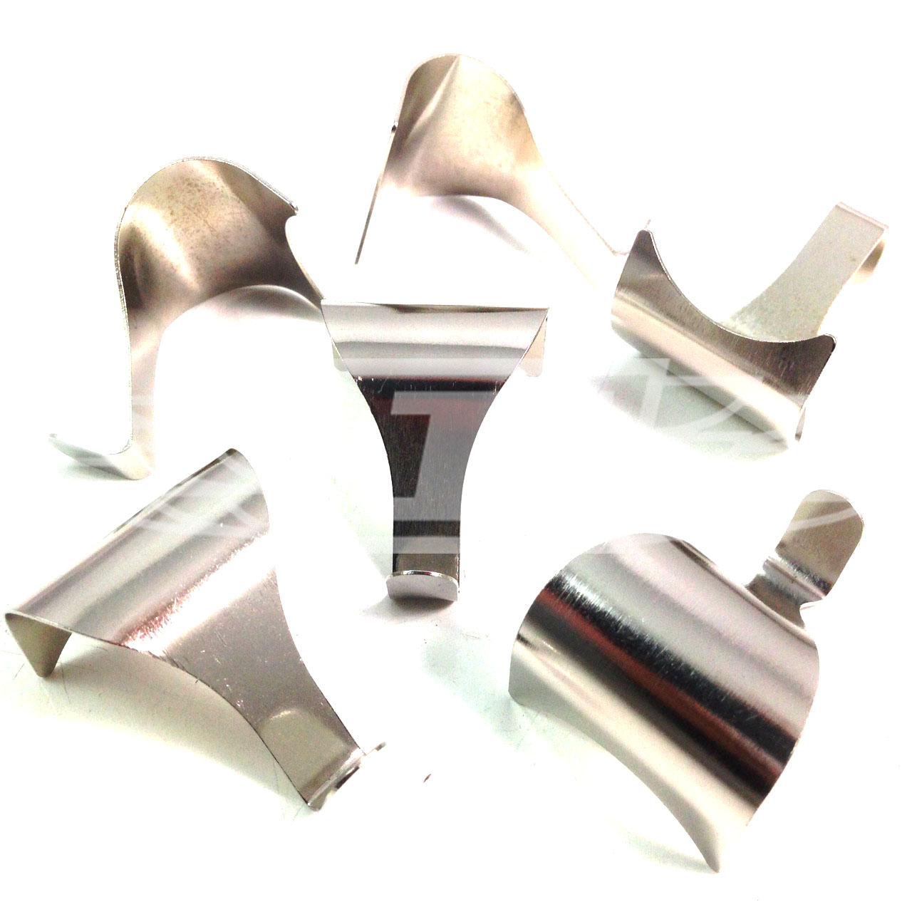 Chrome dado rail moulding picture hanging hooks photo for Mirror hooks