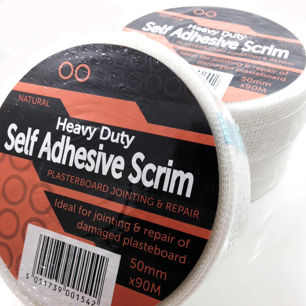 Adhesive Paper Drywall Tape : Roll of drywall self adhesive scrim tape m mm ebay