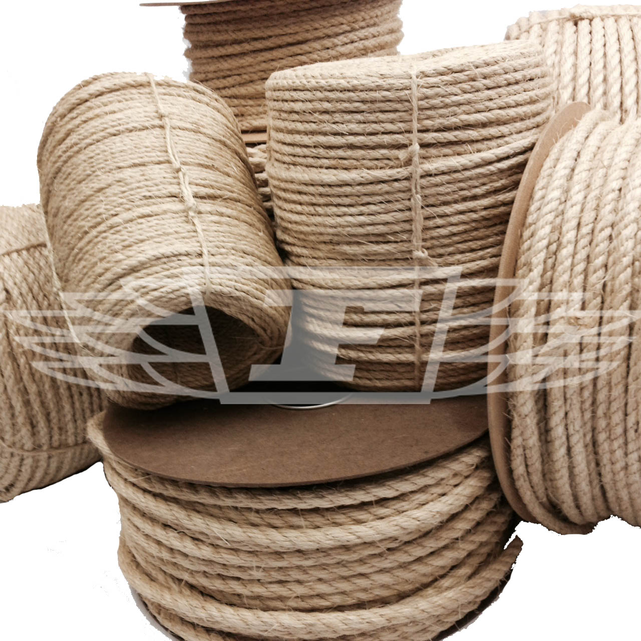 6mm New Natural Sisal Rope Coils Decking Garden Cat