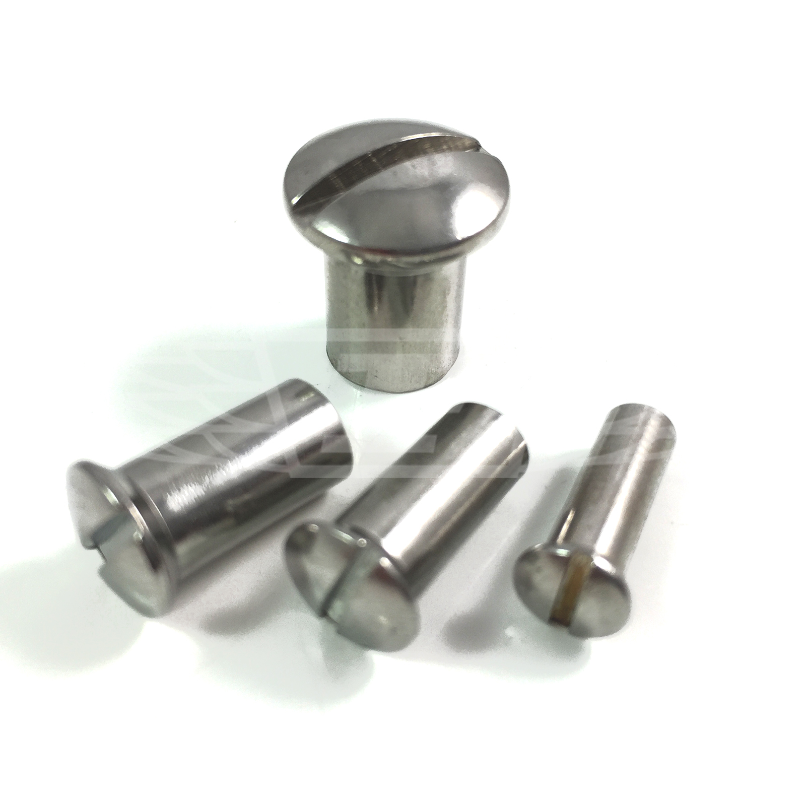 M a stainless steel raised countersunk