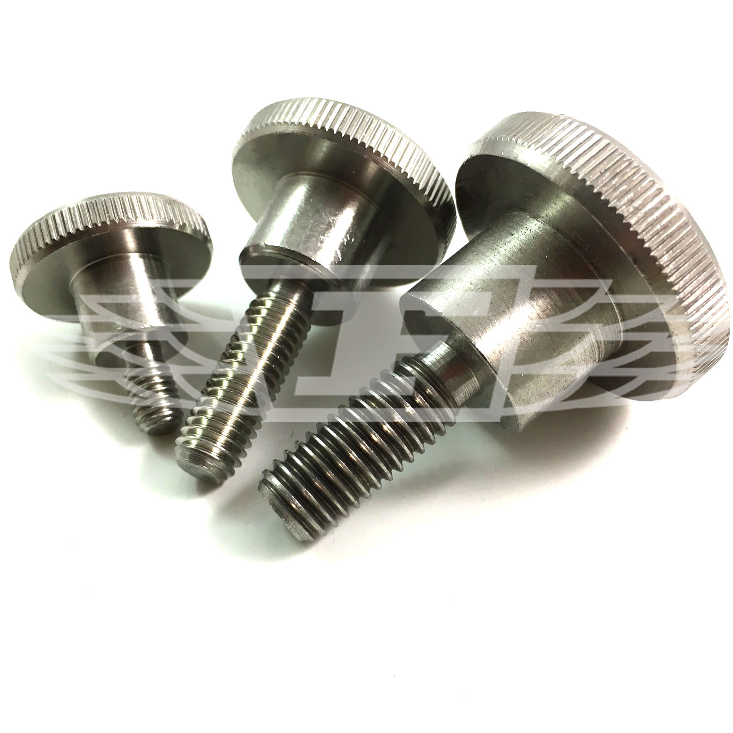 Stainless Steel Knurled Thumb Screws High Type Din 464