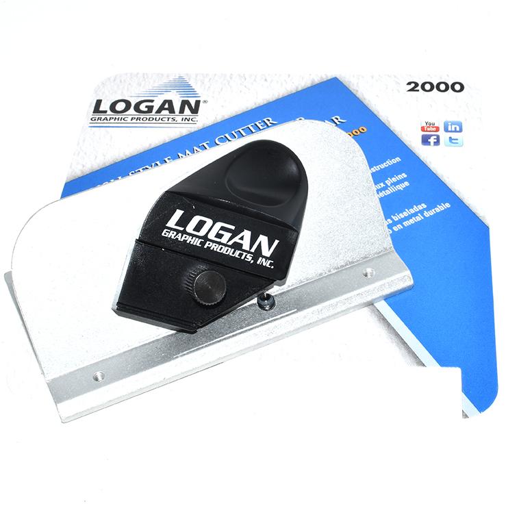 Logan 2000 Push Style Handheld Mat Mount Cutter Bevel