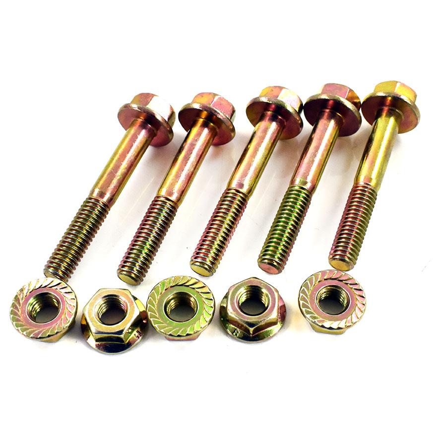 Flange Hex Bolts Flanged Screws Self Color M10 M12 M14 M16 10.9 High Tensile