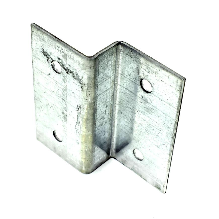 "GALVANISED FENCE /& TRELLIS CLIPS BRACKET PANEL FIXING PACK OF 40-46mm 1.80/"""