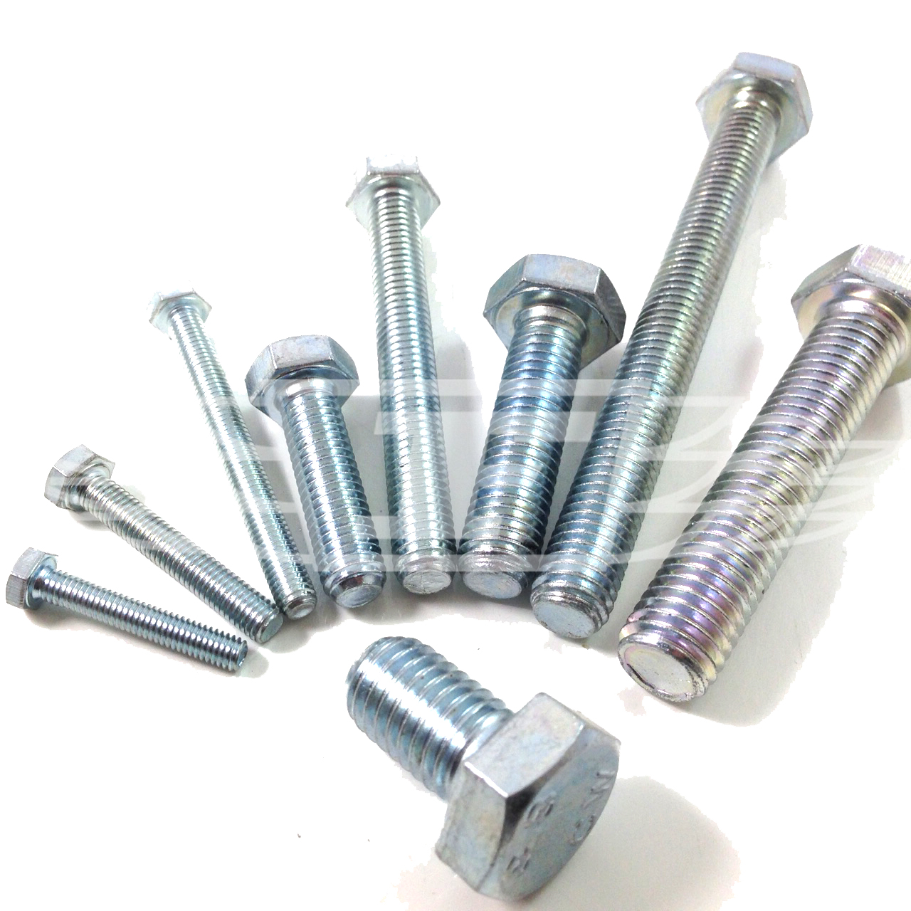 Setscrew M10 10mm x 130mm Pack of 1 A2 Stainless Steel Fully Threaded Hex Bolt